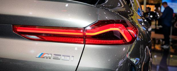 Motorul V8 i-a facut sa uite de grila iluminata. POZE REALE cu noul X6 M50i direct de la Frankfurt