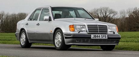 Mr. Bean isi vinde vechea masina. Sedanul cu motor V8 a fost construit manual de Porsche