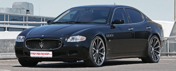 MR Car Design modifica extravagantul Maserati Quattroporte