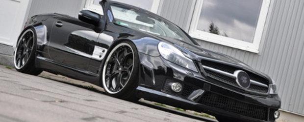 Mr. Wide-Body: Mercedes SL by Prior Design