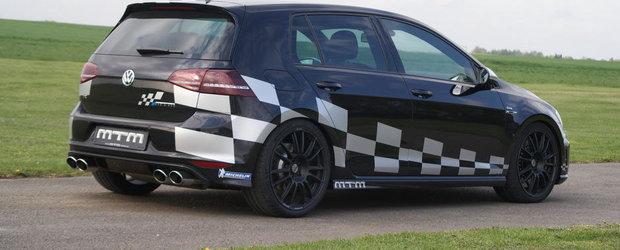 MTM modifica noul VW Golf R, obtine 360 CP si 4.4 sec pana la 100 km/h