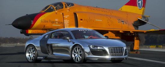 MTM R8 V10 Biturbo se dezlantuie la Geneva Motor Show - 777 CP si aluminiu polisat din plin