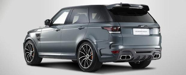Mult carbon si un body-kit cum n-ai mai vazut. Asa arata Range Rover-ul Sport in viziunea celor de la Overfinch