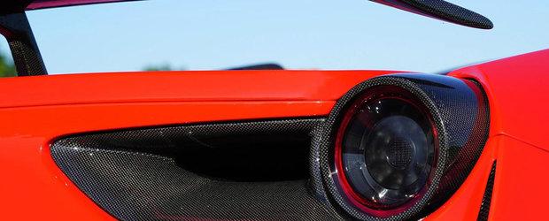 Multa fibra de carbon la exterior si 761 de cai sub capota. Cum arata in rest cel mai agresiv Ferrari al momentului