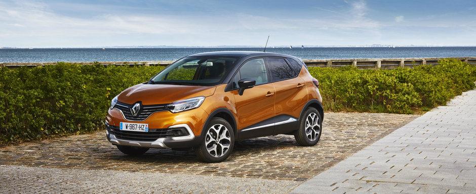 Multi aplauda decizia luata de Renault. Crossover-ul Captur primeste o noua motorizare turbo de 1.3 litri
