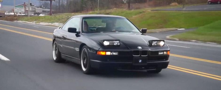 Multi l-au avut pe perete, dar putini stiu cum se conduce. Test cu originalul BMW Seria 8