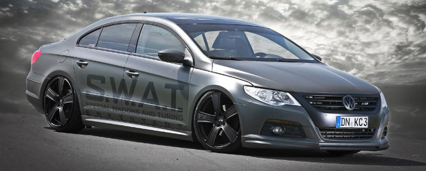Murdered Out: VW Passat CC by KBR Motorsport