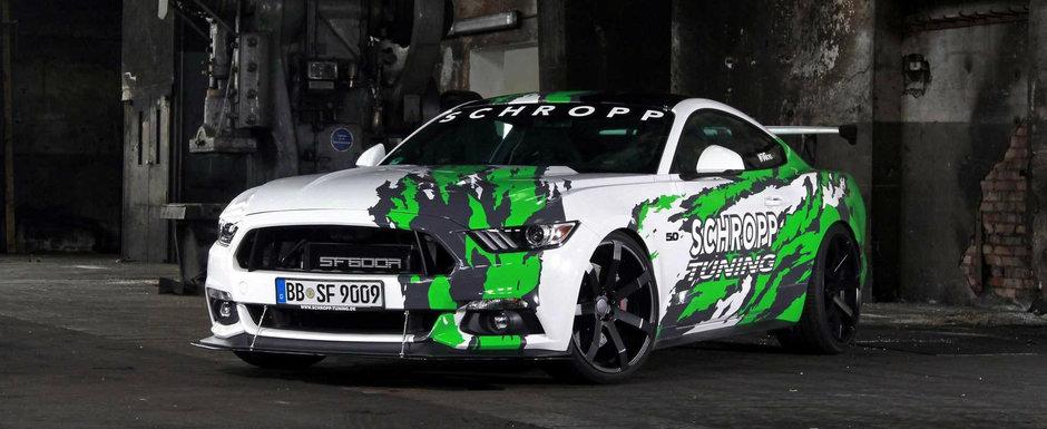 Muscle-car american cu condimente europene: 807 cai putere si 950 Nm cuplu