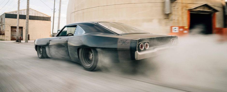 Muscle car-ul condus de Vin Diesel in Fast and Furious 9 a primit o versiune de strada, cu motor central si cutie de Lamborghini