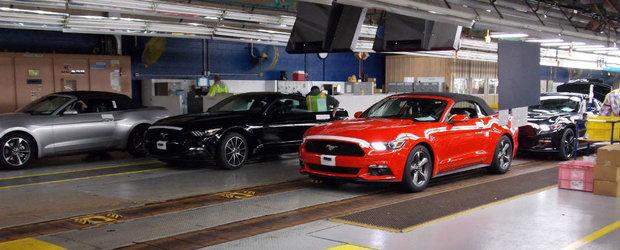 Mustang-ul pus pe liber o saptamana. Ford opreste productia din cauza cererii scazute