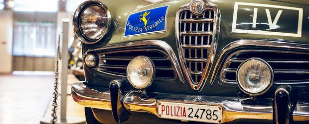 Muzeul Auto al Politiei italiene este un loc plin de bijuterii scumpe