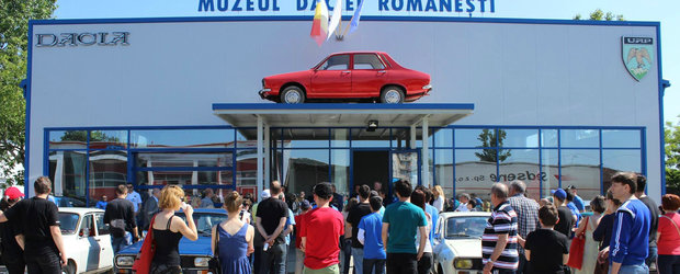 Muzeul Daciei Romanesti s-a deschis oficial la Satu Mare si asteapta iubitori ai epocii comuniste