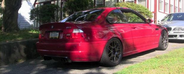 Muzica pentru urechi: BMW M3 cu evacuare Scorza