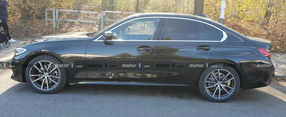 """N-a ajuns inca in showroom-uri dar el l-a surprins pe strada. Cum arata """"pe viu"""" noul BMW Seria 3"""