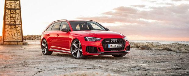 N-ai cum sa te plictisesti de el. Admira noul Audi RS4 din toate unghiurile in aceasta GALERIE FOTO