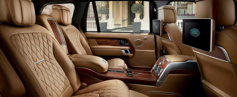 N-ai zice ca esti intr-un Range Rover. Luxul si rafinamentul sunt principalele atractii in noul SVAutobiography