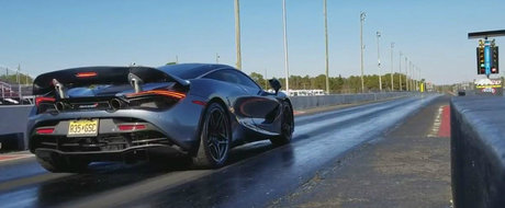N-are nevoie de absolut nicio modificare. McLaren-ul 720S face sfertul de mila in mai putin de 10 secunde