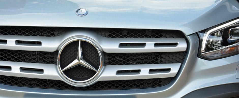 N-au mai stat pe ganduri si au tunat primul pick-up din istoria Mercedes. Cum arata acum masina