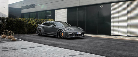 N-o fi el cel mai frumos Porsche, dar cu ajutorul celor de la TechArt parca mai arata cumva