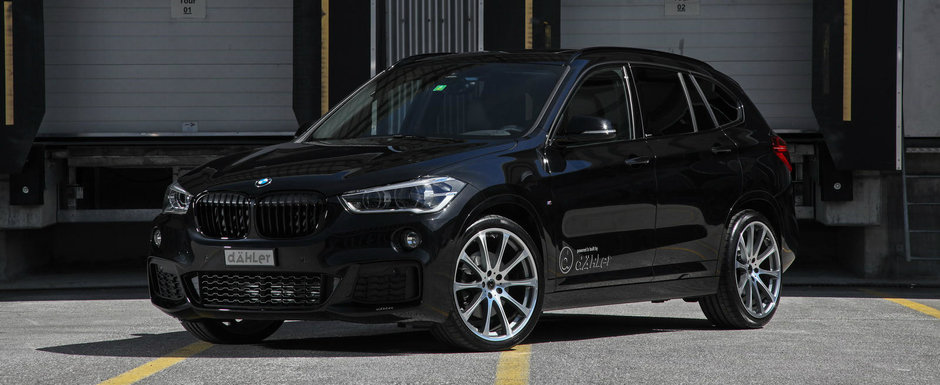 N-o fi el cel mai tare crossover de la BMW. Dar cu ajutorul nemtilor de la Dahler devine destul de interesant