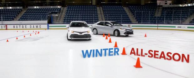 N-o sa mai conduci niciodata o masina fara anvelope de iarna dupa ce vei vedea acest VIDEO