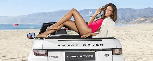Naomie Harris, noua fata Bond, ne arata cat de sexy e noul Evoque Convertible