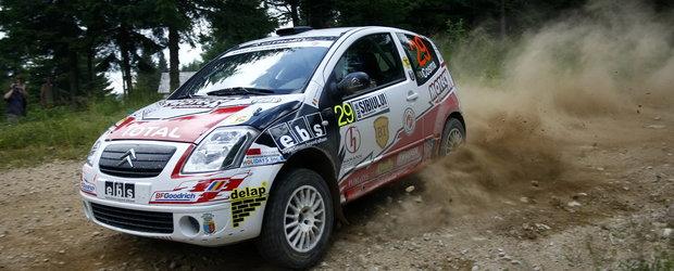 Napoca Rally Academy, din nou cu doua echipaje pe podium