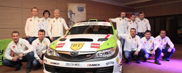 Napoca Rally Academy face schimbari in echipaje