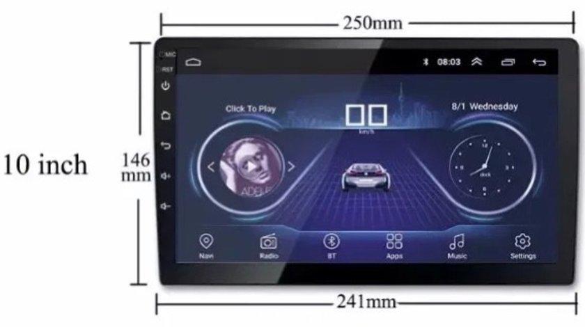 Navigatie 10 inch Android 9.1 -1Din Gps WiFi Casetofon DVD - Logan