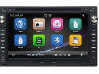 NAVIGATIE 2DIN DEDICATA PEUGEOT 307 DVD PLAYER AUTO GPS CARKIT USB SD