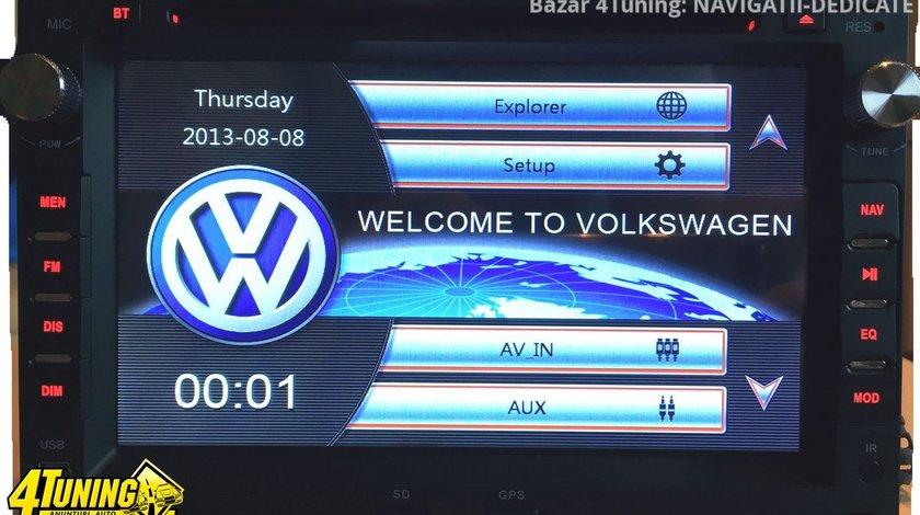 NAVIGATIE 2DIN DEDICATA  VW BORA 1998-2005 DVD PLAYER AUTO GPS CARKIT USB SD
