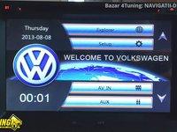 NAVIGATIE 2DIN DEDICATA VW FOX 2005-2010 DVD PLAYER AUTO GPS CARKIT USB SD
