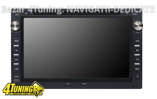 NAVIGATIE 2DIN DEDICATA VW GOLF 4 MK4 1997-2004 DVD PLAYER AUTO GPS CARKIT USB SD