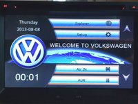 NAVIGATIE 2DIN DEDICATA VW GOLF 4 MK4 1997-2004 DVD PLAYER AUTO GPS CARKIT USB SD