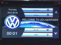 NAVIGATIE 2DIN DEDICATA VW VW POLO MK3 / 4 (9N) 2000-2009 DVD PLAYER AUTO GPS CARKIT USB SD
