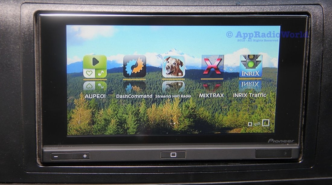Nieuw Navigatie 2din Pioneer 4x50w Bluetooth Sd #19066770 VQ-78