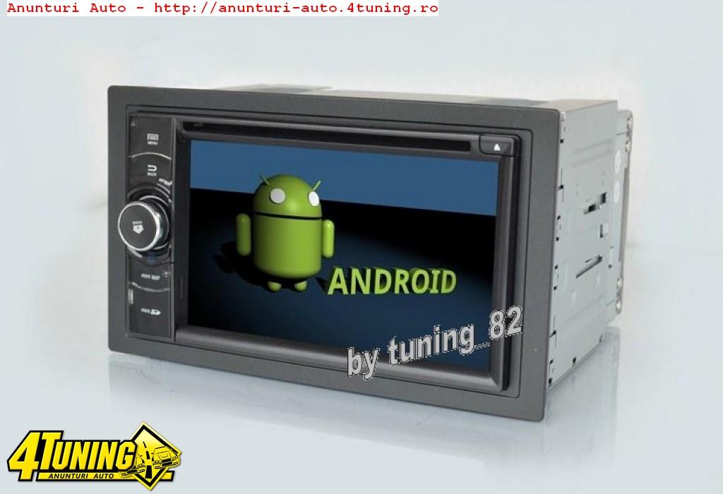 NAVIGATIE 2DIN UNIVERSALA WITSON W2-M802 PLATFORMA S160 PROCESOR QUADCORE 16GB REZOLUTIE HD DVD GPS