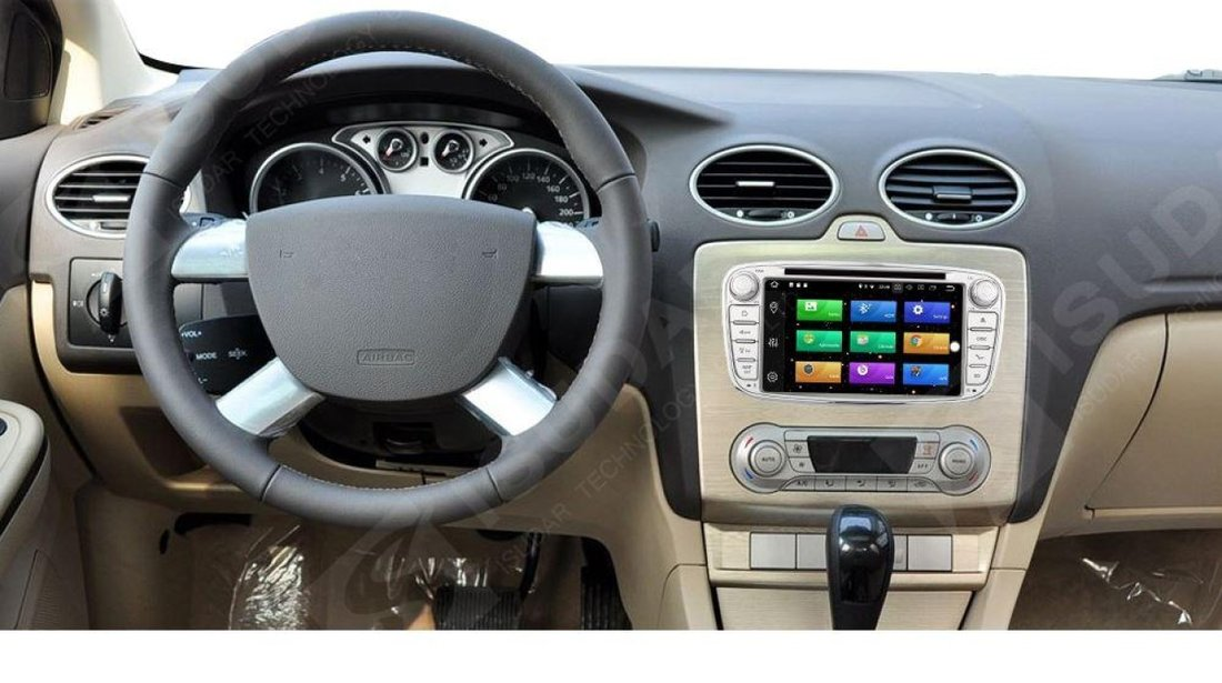 NAVIGATIE 8.0 ANDROID DEDICATA FORD MONDEO FOCUS 2 S-MAX GALAXY TOURNEO WITSON W2-V5762S OCTACORE 4G