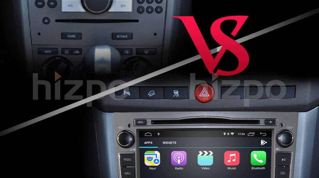 Navigatie Android 10 Dedicata Opel Astra Vectra Antara Corsa Zafira Meriva Signum Vivaro NAVD-MT019
