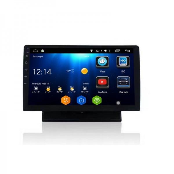 Navigatie Android 1DIN Fiat Linea Ecran 10.1 Inch Ecran Reglabil Detasabil INTERNET NAVD-i1010