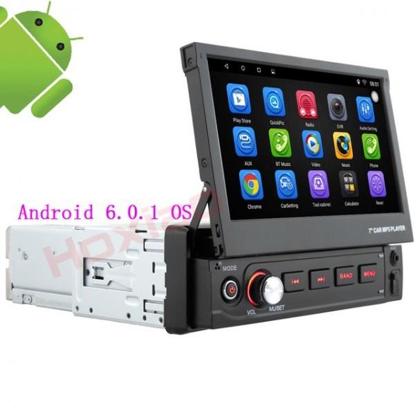 Navigatie Android 1DIN Universala Ecran 7 Inch Ecran Reglabil INTERNET WAZE EDT-E002