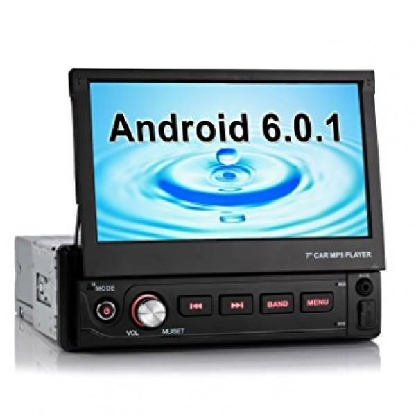 Navigatie Android 1DIN VW PASSAT B5 Ecran 7 Inch Ecran Reglabil INTERNET WAZE EDT-E002