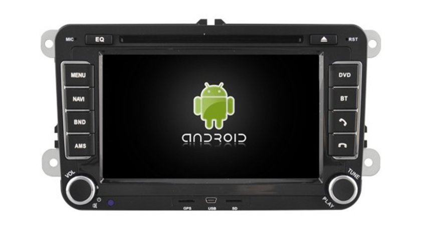 NAVIGATIE ANDROID 4.4.4 DEDICATA VW SKODA SEAT NAVD-A7500 INTERNET PROCESOR A9 QUAD CORE 16GB DVR 3G