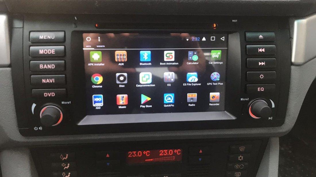 Navigatie Android 6.0.1 Dedicata BMW E38 E39 X5 E53 Intel 2GB Ram NAVD-i082
