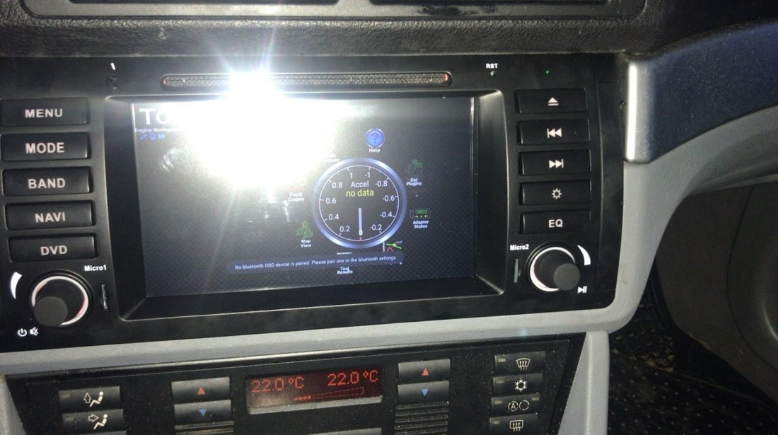 NAVIGATIE ANDROID 6.0.1 DEDICATA BMW SERIA 7 E38 (1994 - 2003) QUAD-CORE 2GB RAM 16GB NAVD-i082