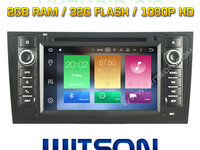 Navigatie Android 6.0 Dedicata AUDI A6 C5 1997-2004 DVD GPS CARKIT WITSON W2-B5577 OCTACORE 32 GB