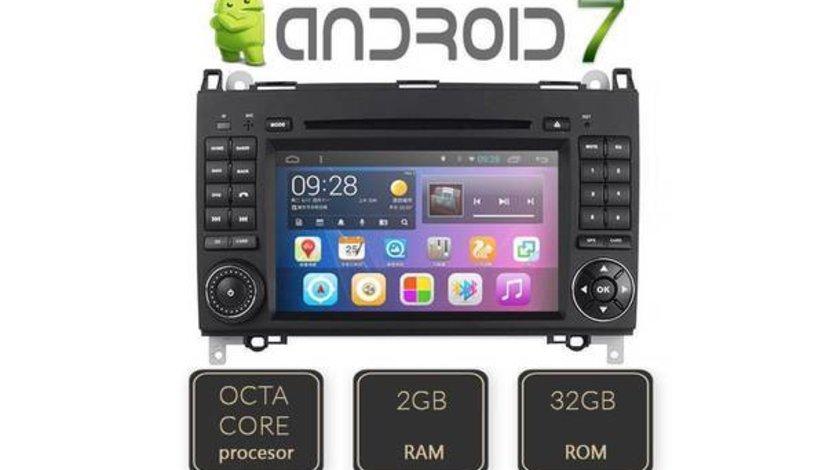 NAVIGATIE ANDROID 7.0 DEDICATA Mercedes Benz Vito EDT-G068 OCTACORE