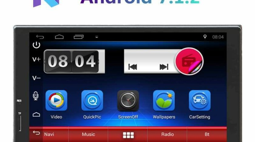 """NAVIGATIE ANDROID 7.1.2 EDONAV E300 Peugeot 207 MULTIMEDIA CU ECRAN DE 7"""" GPS CARKIT 3G WIFI"""