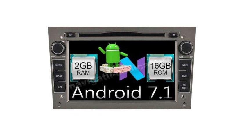 NAVIGATIE ANDROID 7.1 DEDICATA Opel Meriva  NAV-D019 2GB RAM DVR CARKIT