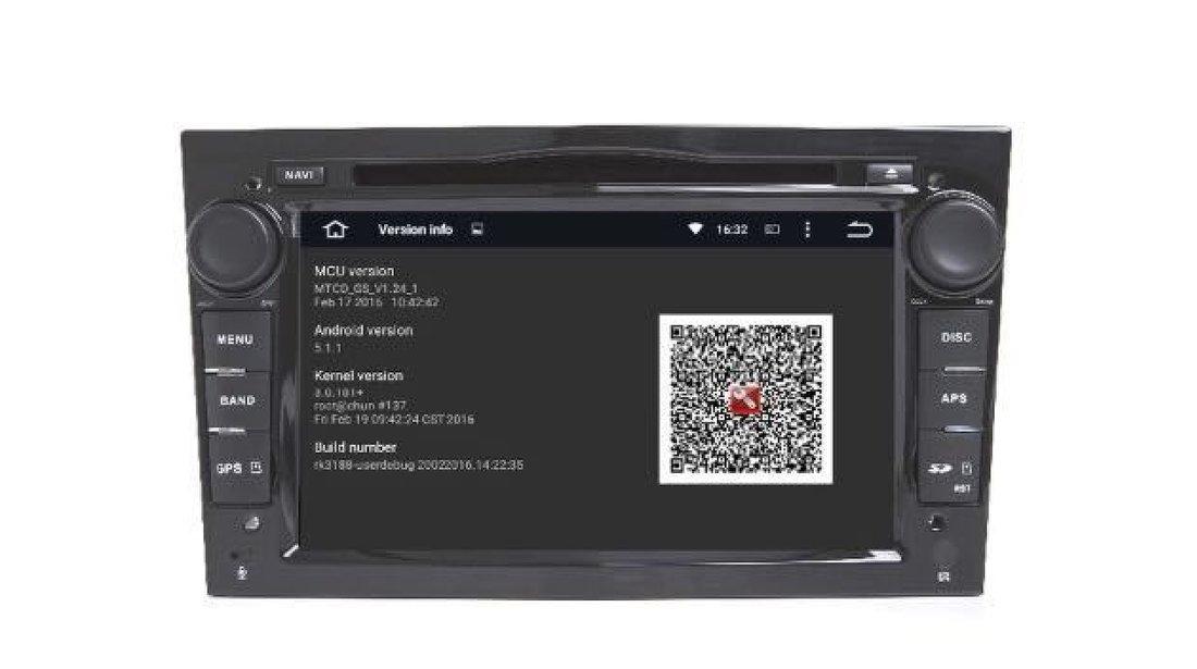 NAVIGATIE ANDROID 7.1 DEDICATA Opel Vivaro NAV-D019 2GB RAM DVR CARKIT